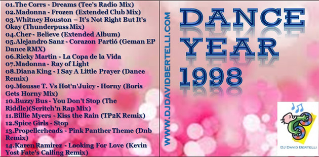 DJ David Bertelli - Dance Year 1998