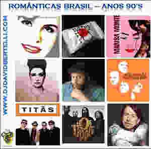DJ David Bertelli - Românticas Nacionais - Anos 90's