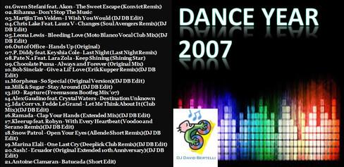 DJ David Bertelli - Dance Year 2007