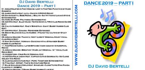 DJ David Bertelli - Dance 2019 - Part I