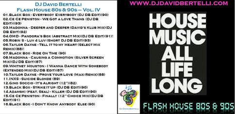 Flash House 80's & 90's - Vol. IV