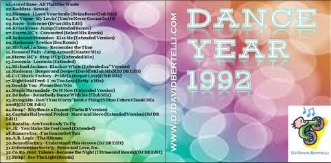 DJ David Bertelli - Dance Year 1992
