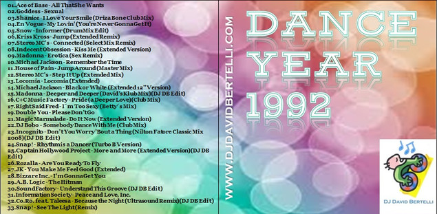 DJ David Bertelli - Dance Year 1992