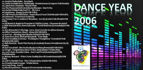 DJ David Bertelli - Dance Year 2006