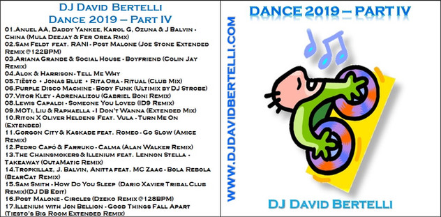 DJ David Bertelli - Dance 2019 - Part IV