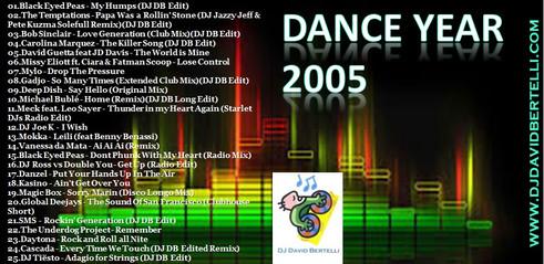 DJ David Bertelli - Dance Year 2005