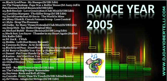 DJ David Bertelli - Dance Year 2005