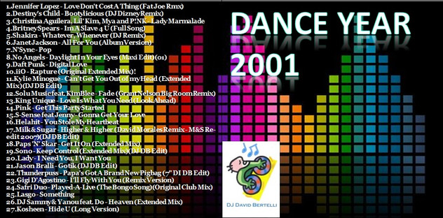 DJ David Bertelli - Dance Year 2001