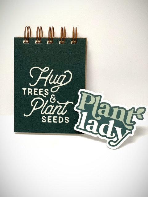 Hug trees mini jotter