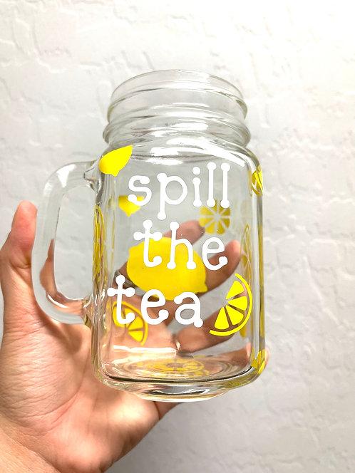 Spill the tea mug