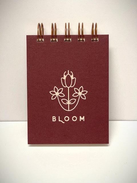 Bloom mini jotter