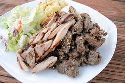 Chicken Beef Plate