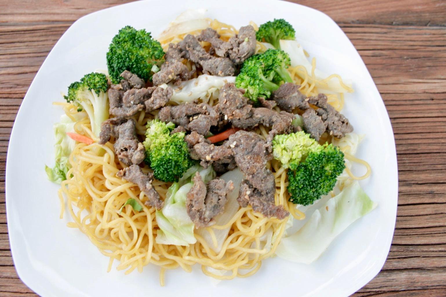 Beef Yakisoba
