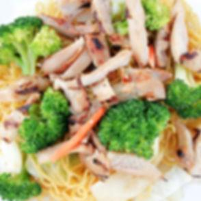 Chicken Yakisoba | The Chcken Bowl