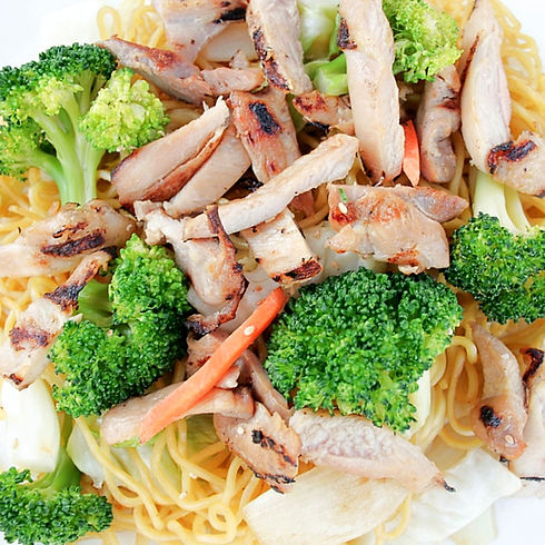 Chicken Yakisoba | The Chcken Bowl