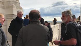 Arrivée de Jean-Marie Van Butsele à Marseille