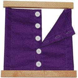 Cadre d'habillage - grands boutons