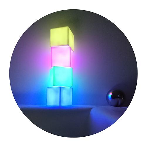 Cubes lumineux - par 4