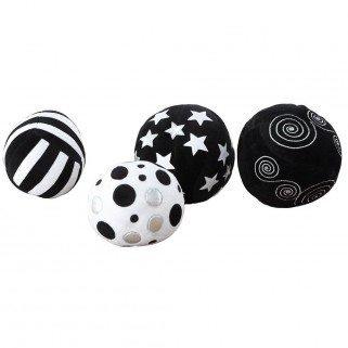 Balles noires et blanches XXL