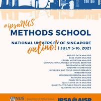 2021년 10th IPSA-NUS 방법론 프로그램 공지