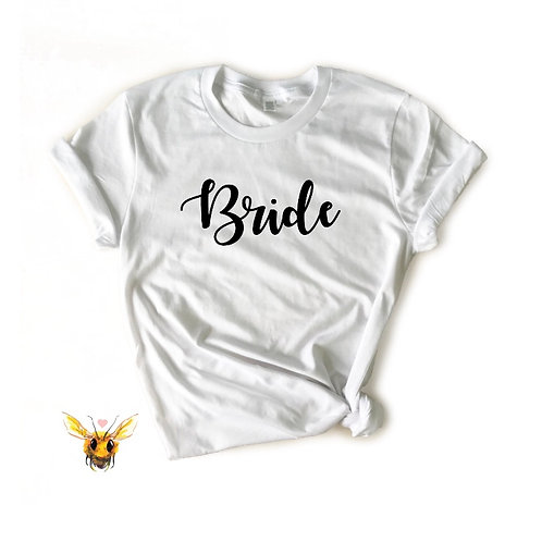 T-Shirt - Bride - White