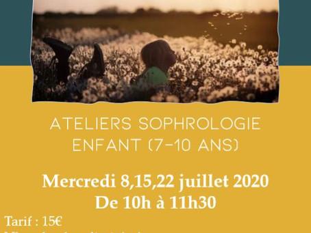 ATELIERS SOPHOLOGIE POUR LES ENFANTS