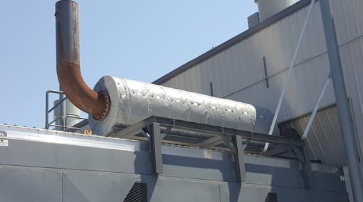 Custom Built Removable Insulation Blanket for Exhaust Muffler