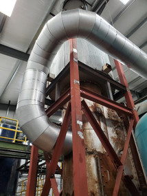 Mineral Wool Pipe & Tank Insulation with Custom Fabricated Aluminum Jacketing