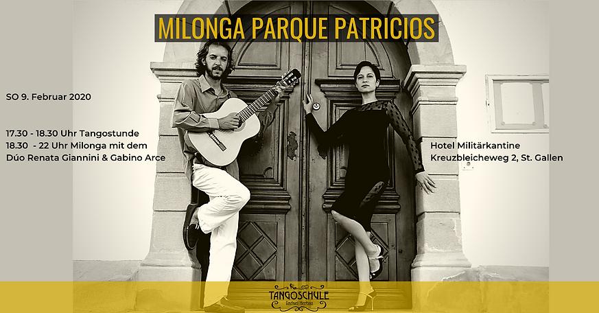 Milonga Parque Patricios mit Renata  Gab