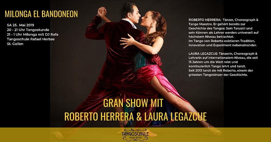 Milonga El Bandoneon mit Roberto Herrera