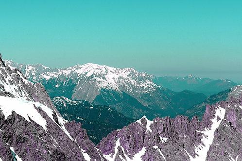 Many Worlds - Turquoise Sky
