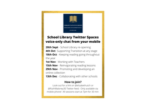 Twitter Spaces for School Librarians