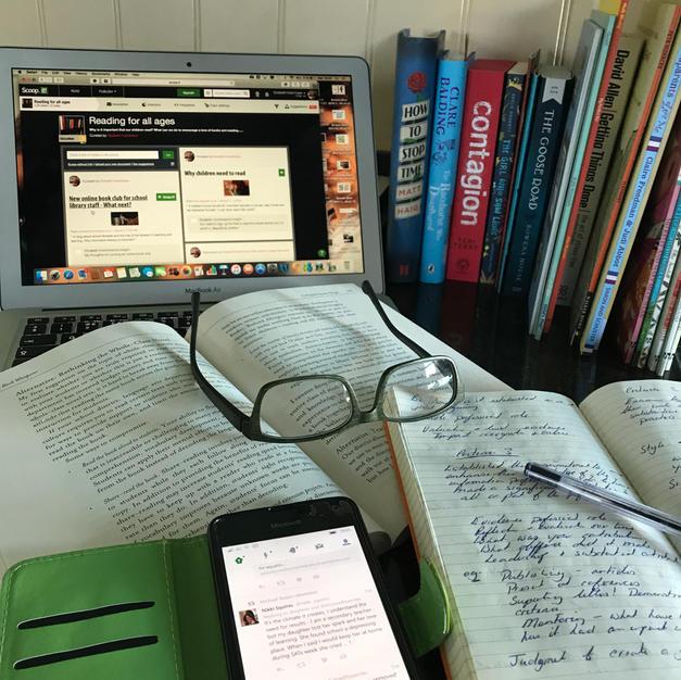 #LibraryStaffLoveLearning - Learning together!