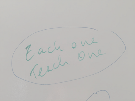 Each One Teach One- Scaling Programs from the Bottom Up
