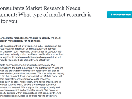 What Type of Market Research Is Right for You?
