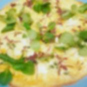 Spinach & feta fritata
