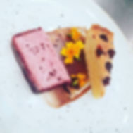 Cherry bakewell & parfait