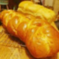 Plaited milk bread & sandwich loaf