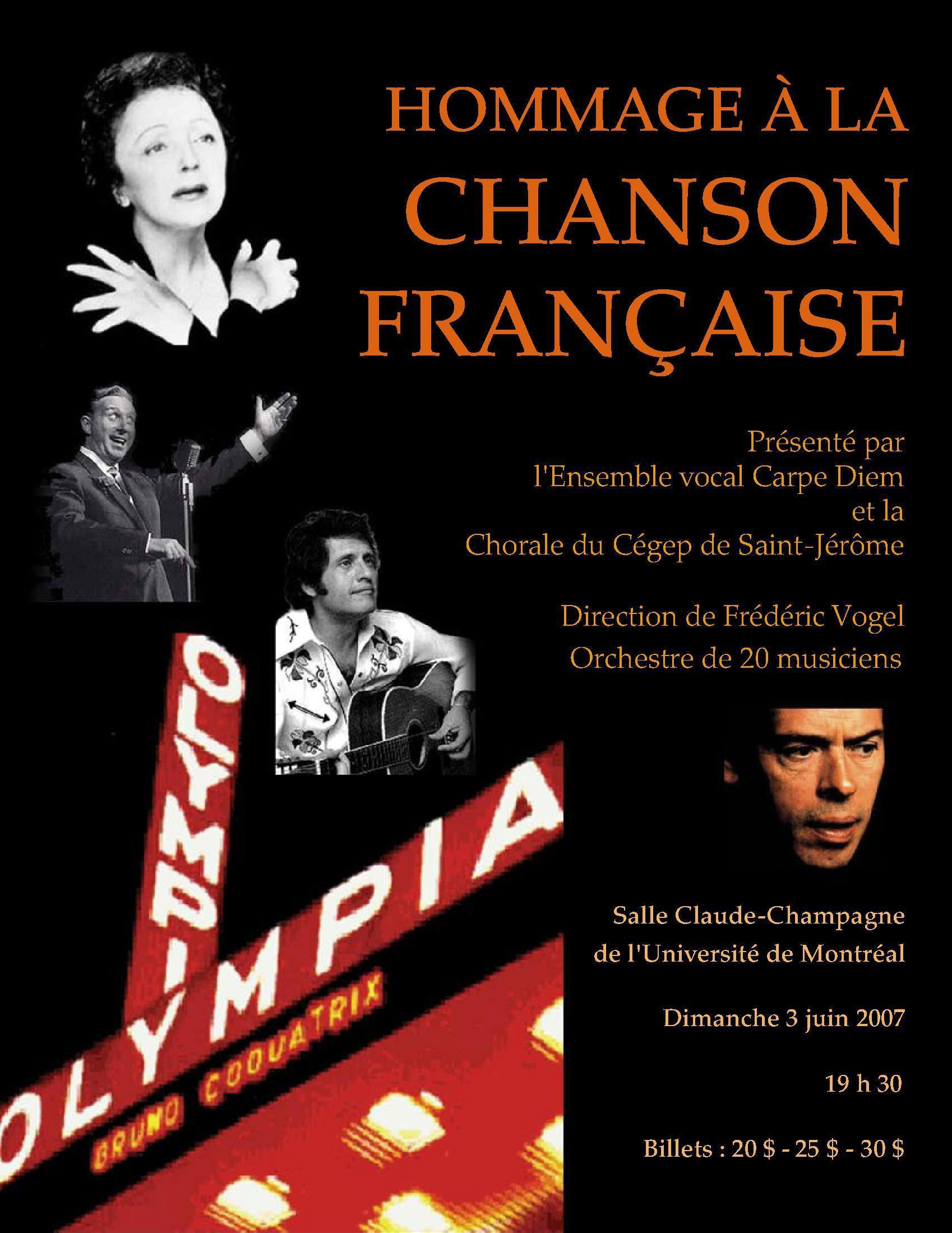 2007-3 juin Hommage chanson franç.