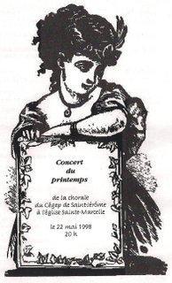 1998-mai Concert du printemps