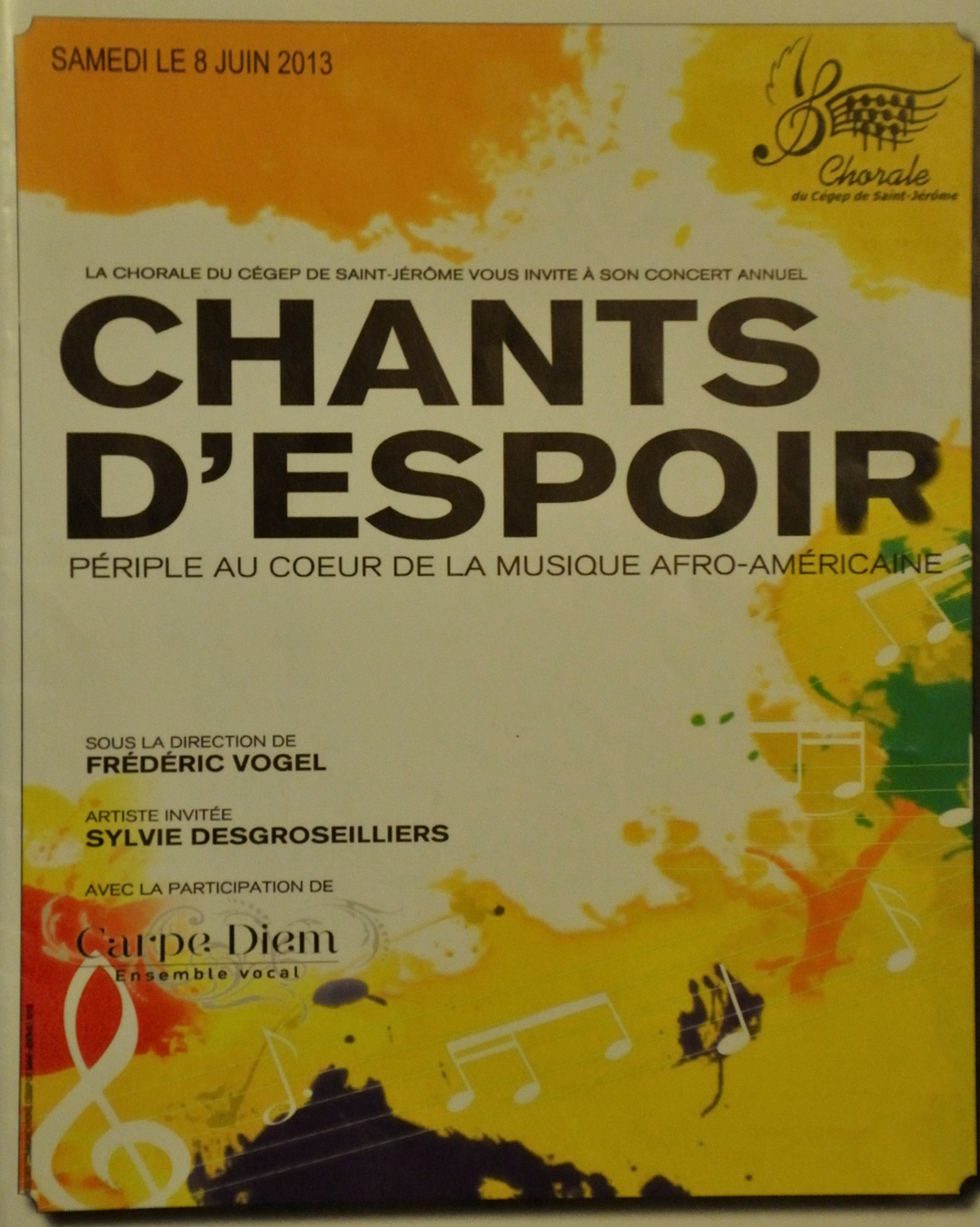 2013-8juin Chants d'espoir