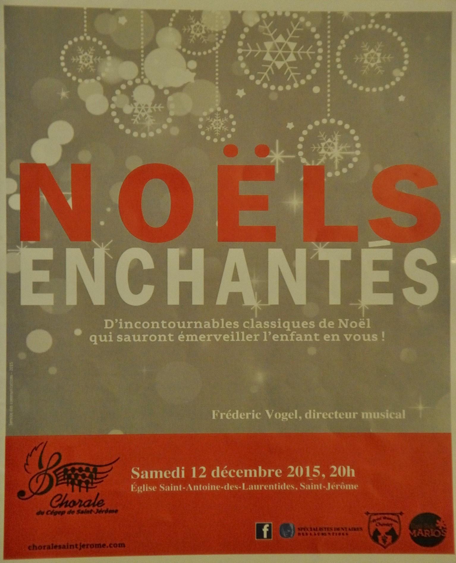 2015-12 décembre Noëls enchantés