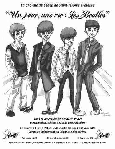 2009-23 mai Un jour, une vie Les Beatles