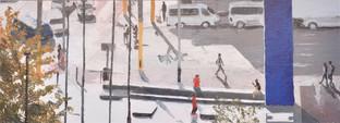 """Mondrian Crossing"""