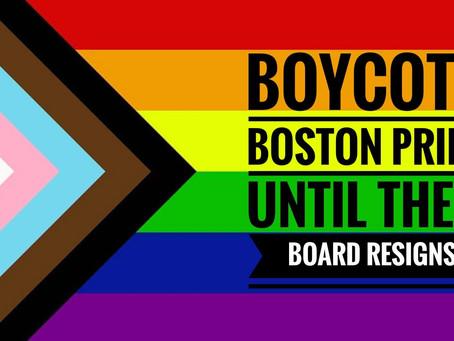 Boycott Boston Pride Until Real Transformation Happens!