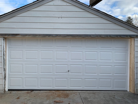 Old leaning and sinking garage we had to work magic on