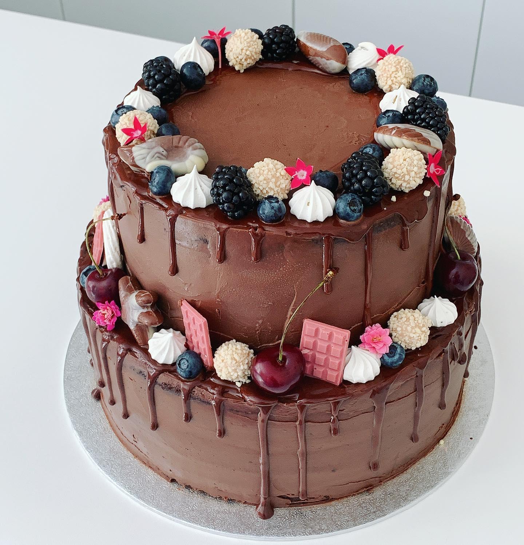 Csokis és málnás