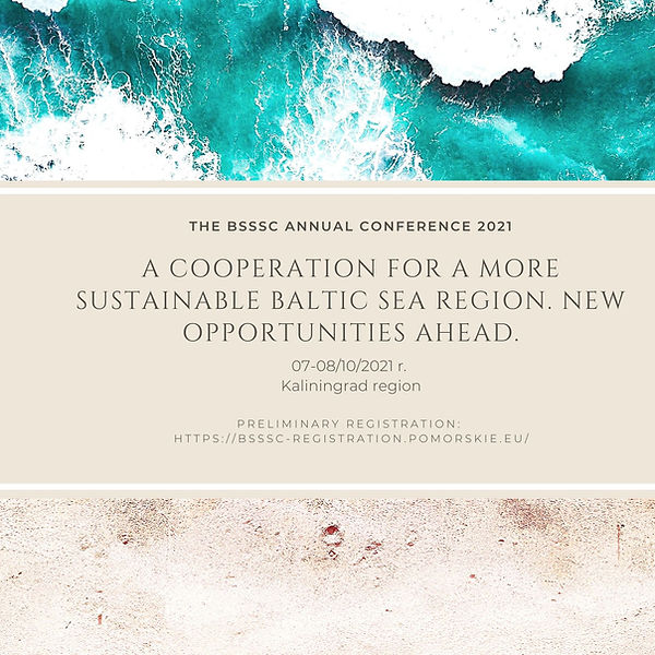 save the date BSSSC Annual Conference 2021