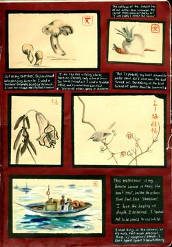 Japanese Study Sketchbook