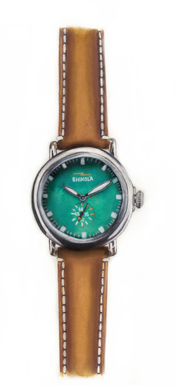 Shinola Watch Watercolour